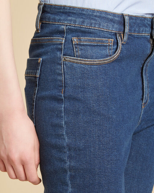 Jean slim indigo foncé taille haute Venice (2) - 1-2-3