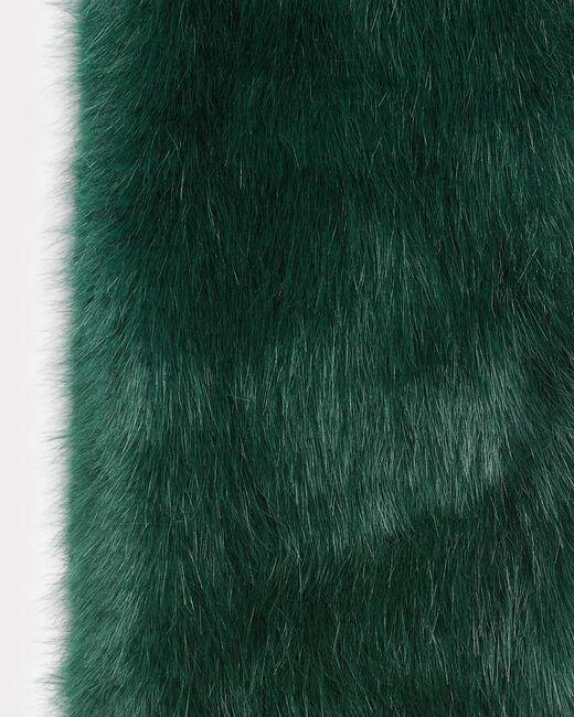 Col vert anglais en fausse fourrure Ewenne (1) - 1-2-3