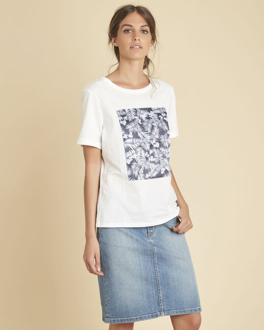 Tee-shirt blanc imprimé Elixir (2) - 1-2-3
