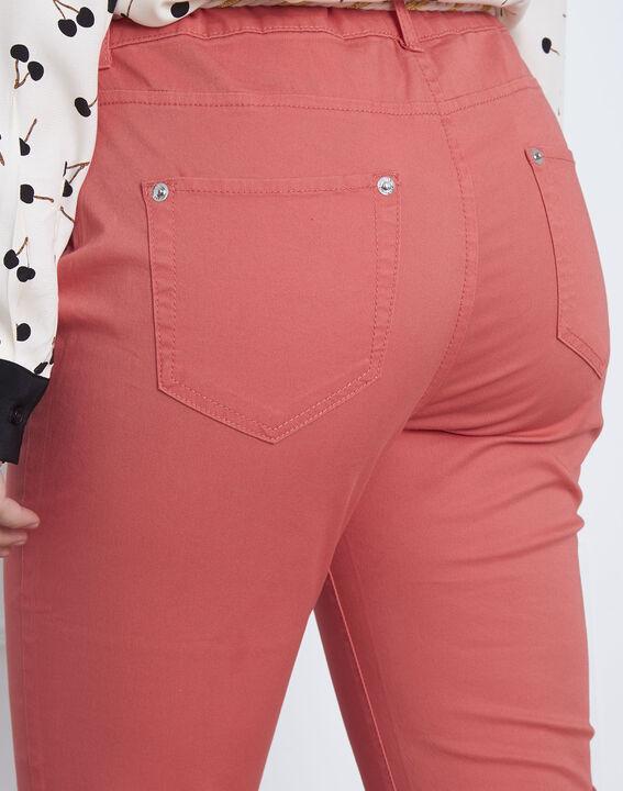 Pantalon corail chino ceinture fantaisie Francis (4) - Maison 123