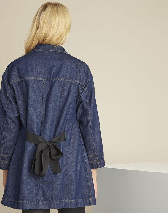 Manteau en jean gros grain Sultan (3) - Maison 123