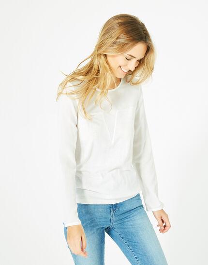 Paloma off-white cashmere mix sweater (3) - 1-2-3