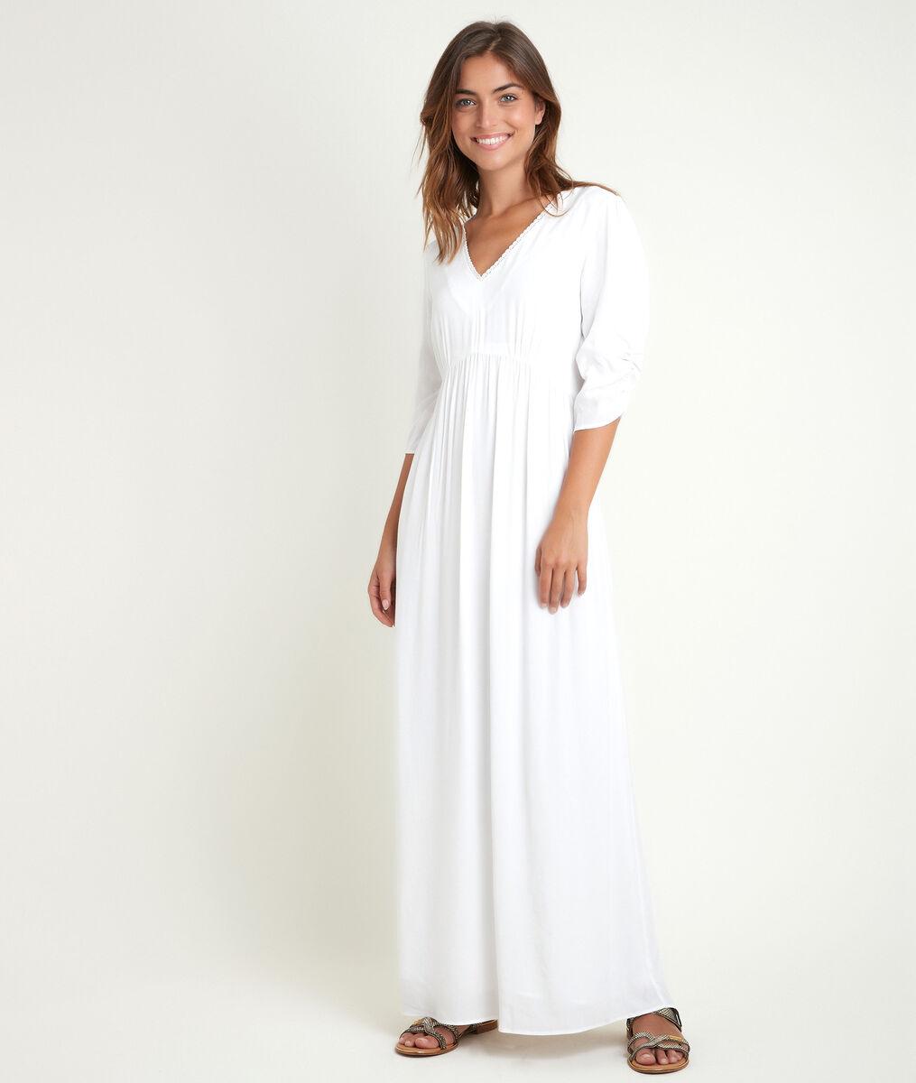 Robe longue droite Claudette PhotoZ   1-2-3