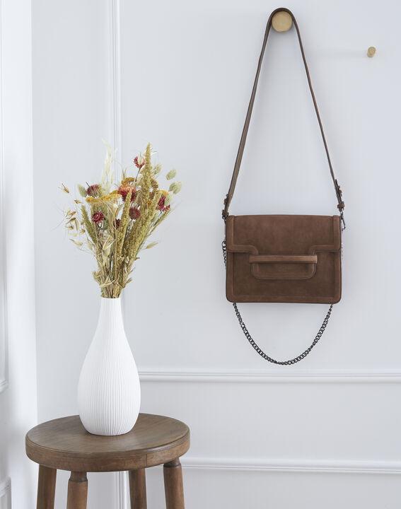 Le It bag 123 - sac bandoulière en cuir velours (1) - 1-2-3