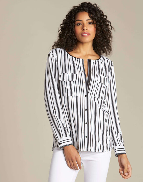 Dan striped blouse (3) - 1-2-3