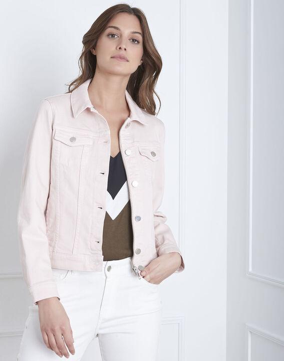 Veste poudre en jean courte Clem PhotoZ | 1-2-3