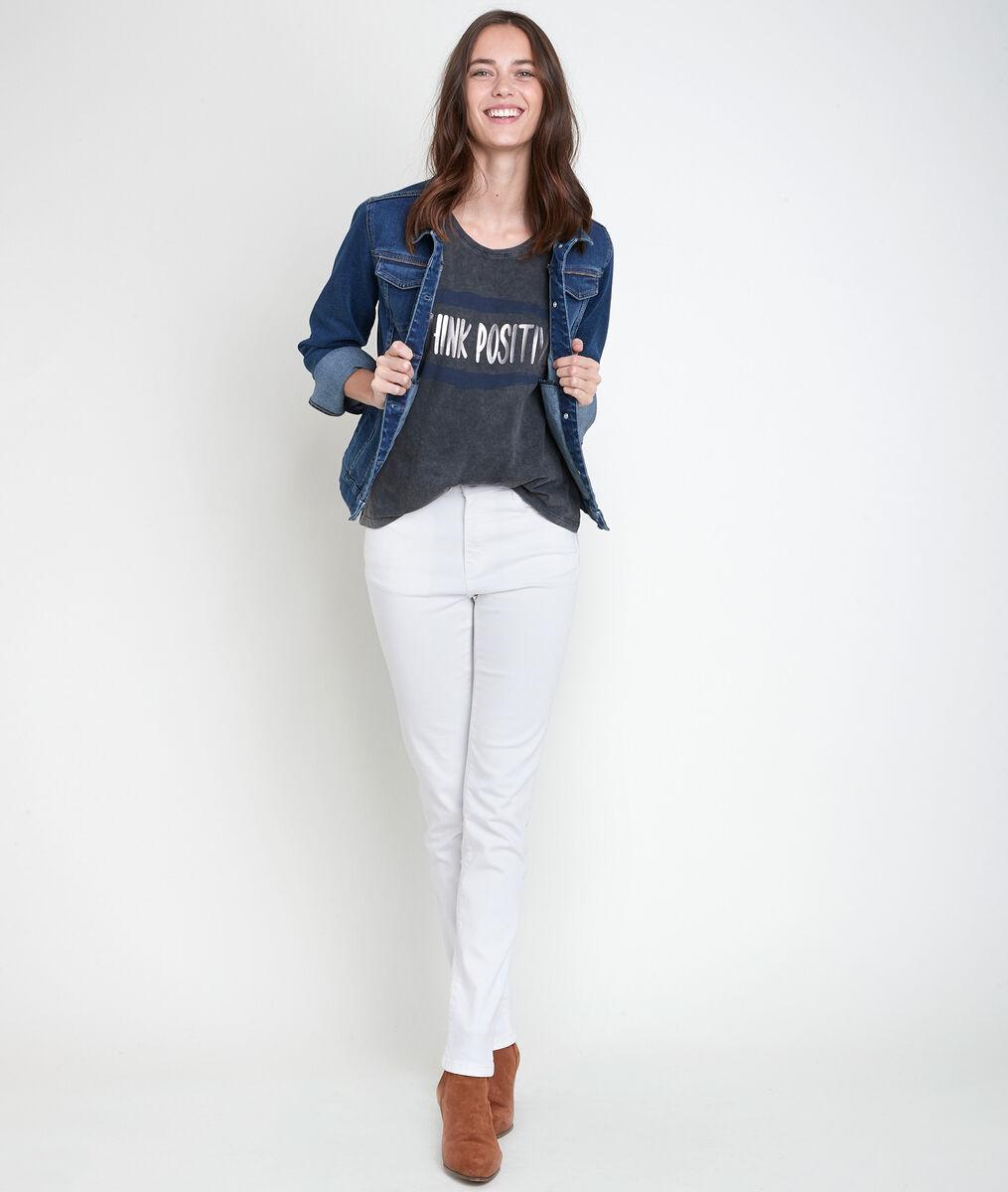 Tee-shirt anthracite sérigraphié Inoui PhotoZ | 1-2-3