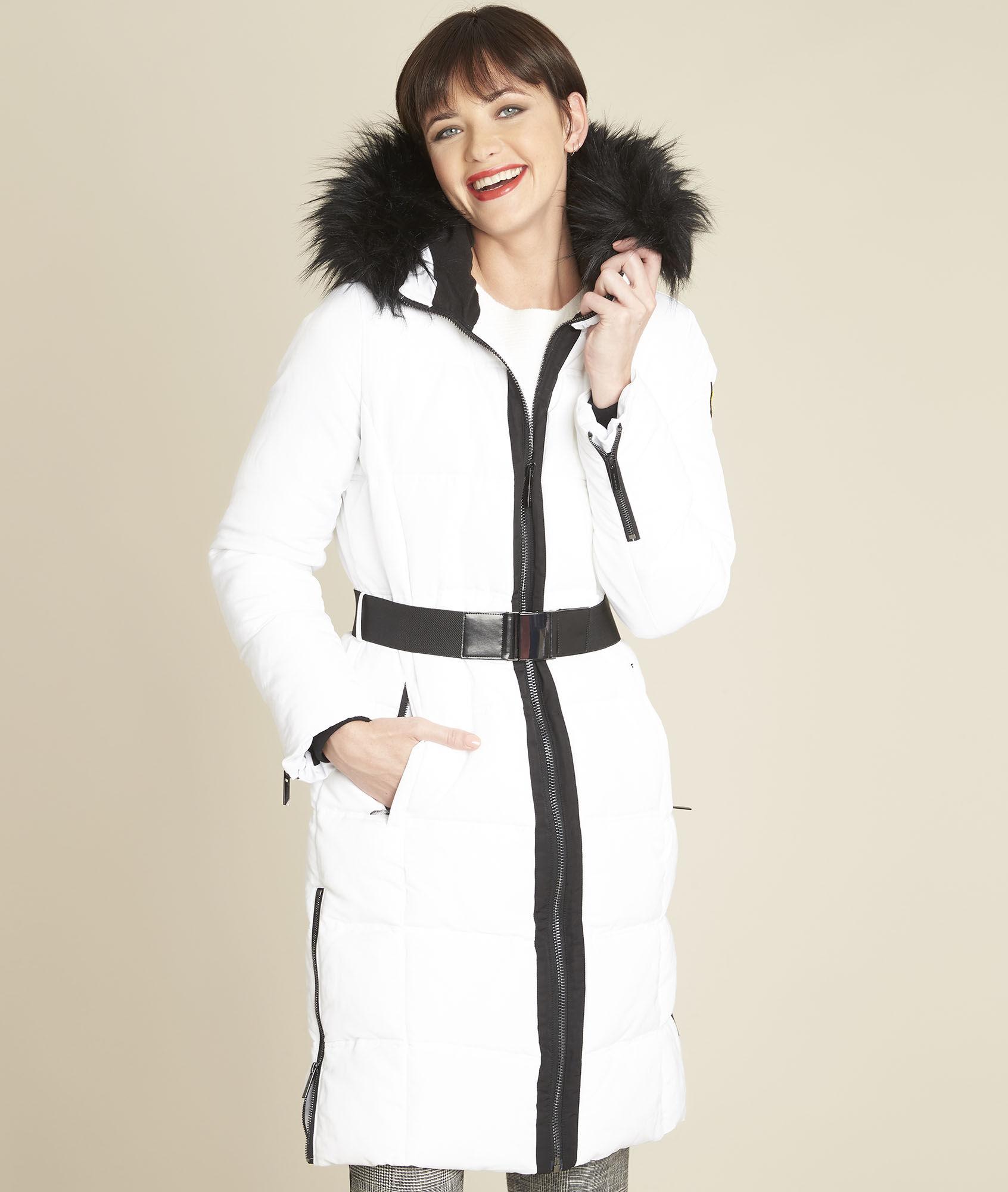 Veste blanche femme 123