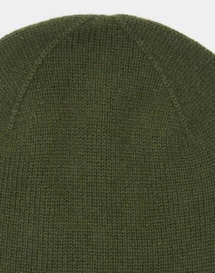 Bonnet kaki en cachemire Tilleul (2) - 1-2-3