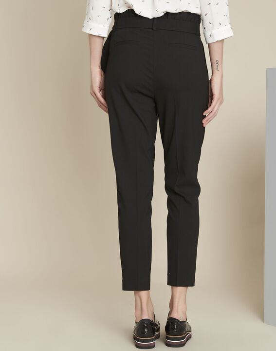 Hemy black belted trousers (4) - 1-2-3