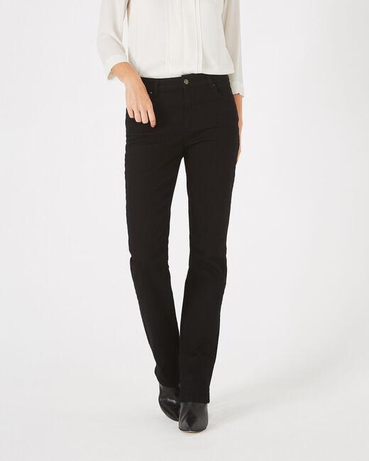 Schwarze überfärbte Straight Cut-Jeans Victor (2) - 1-2-3