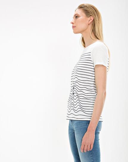 Tee-shirt rayé Nageuse (6) - 1-2-3