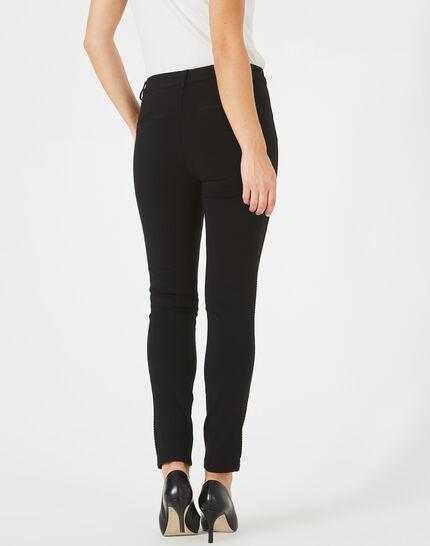 Pantalon noir slim Kali (4) - 1-2-3