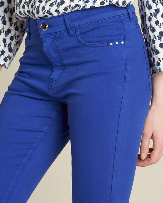 Jean slim bleu roi taille normale Vendome (2) - 1-2-3