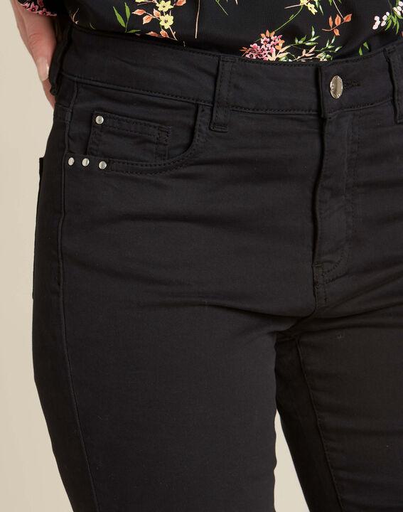 Schwarze Slim-Fit-Jeans normale Leibhöhe Vendome PhotoZ | 1-2-3