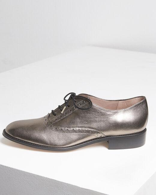 Lucinda rosewood leather Derbies (1) - 1-2-3