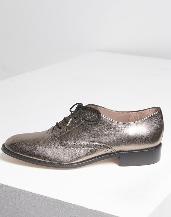 Lucinda rosewood leather Derbies (2) - 1-2-3