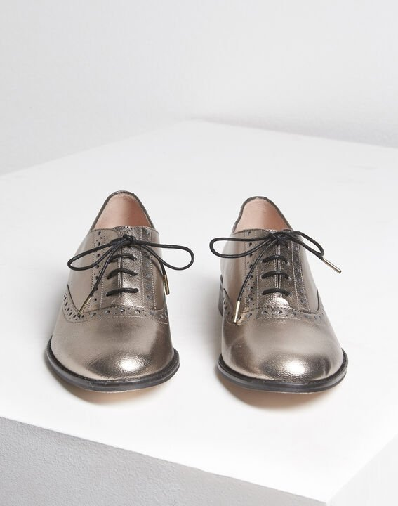 Lucinda rosewood leather Derbies PhotoZ | 1-2-3