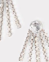 Silberne ohrringe aus messing und glas ielena silber.