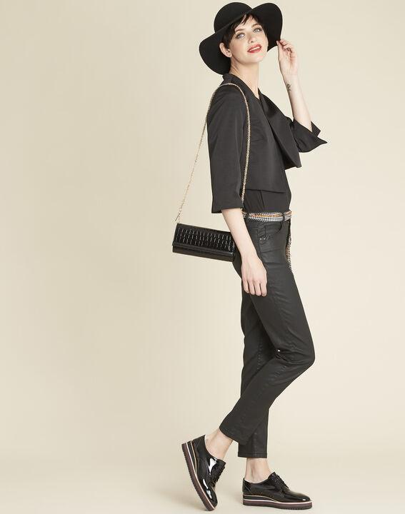 Coralie black ottoman bolero (2) - 1-2-3