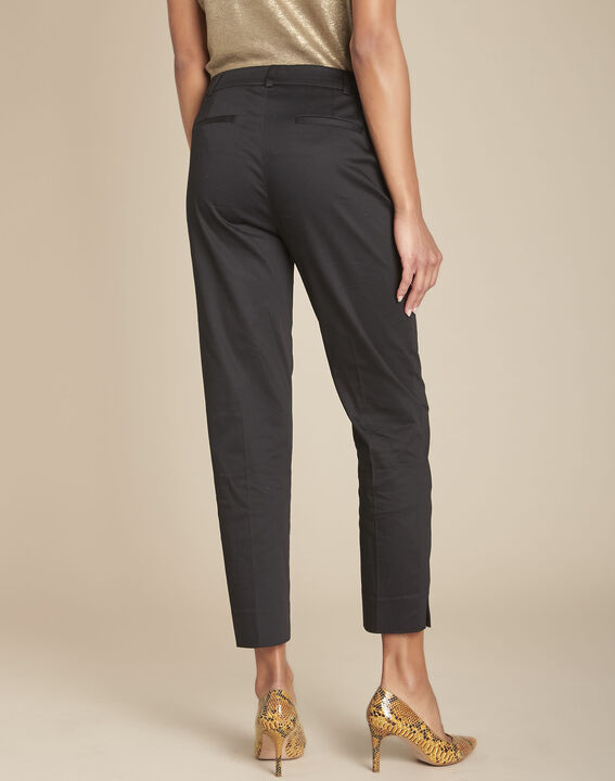 Pantalon noir cigarette Rubis (4) - Maison 123