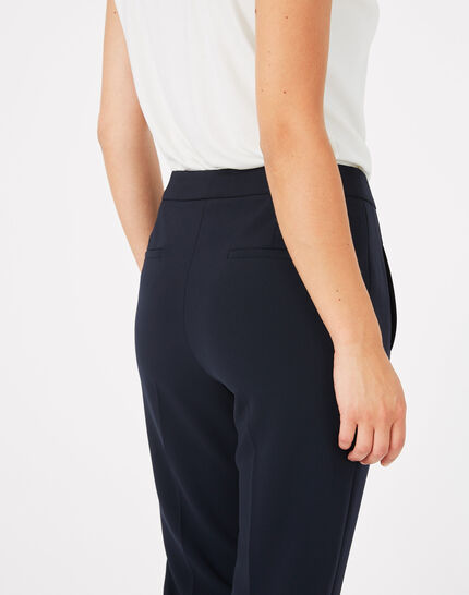 Pantalon de tailleur bleu Lara (5) - 1-2-3