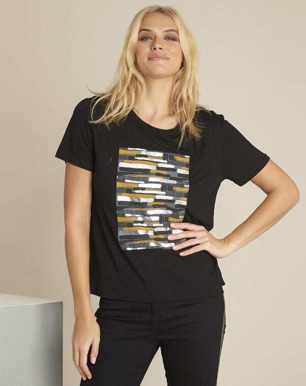 Gartiste black printed t-shirt (1) - 1-2-3