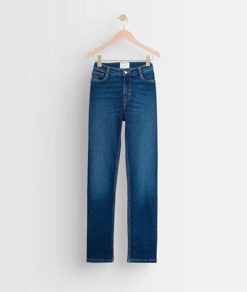 Verwassen blauwe straight-fit jeans PhotoZ   1-2-3