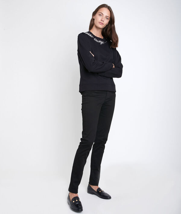 L'iconique slim noir Suzy  PhotoZ | 1-2-3