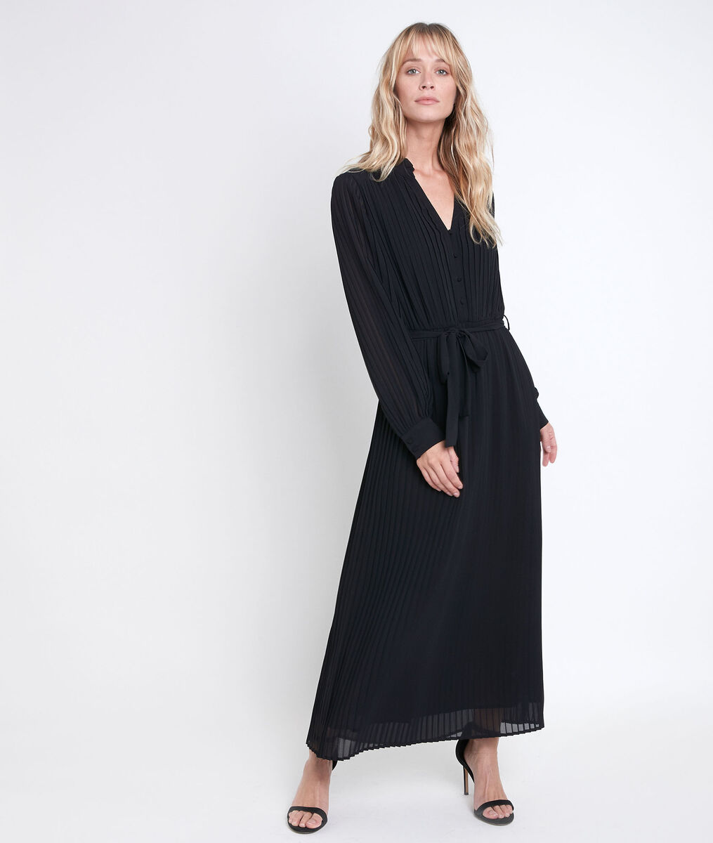 Robe longue plissée Catarina PhotoZ | 1-2-3