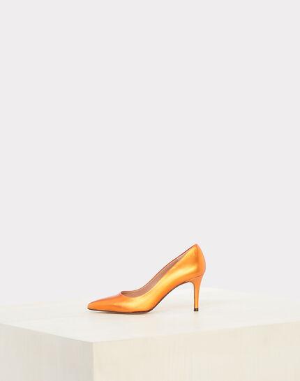 Nastasia orange heels with pointed toe (2) - 1-2-3