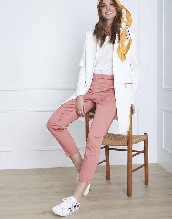 Pantalon rose cigarette Rubis (1) - Maison 123