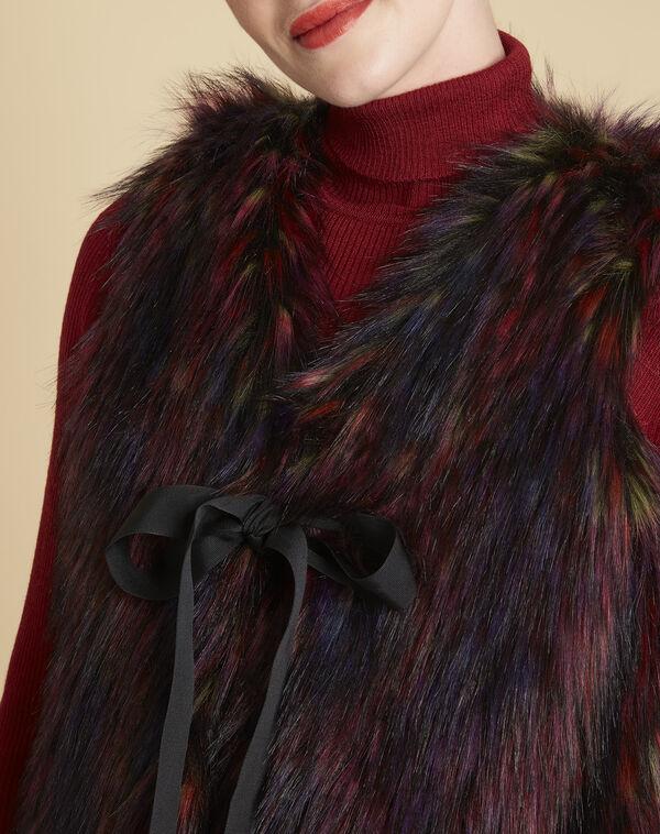 Vest van meerkleurig imitatiebont Pilou (2) - 37653