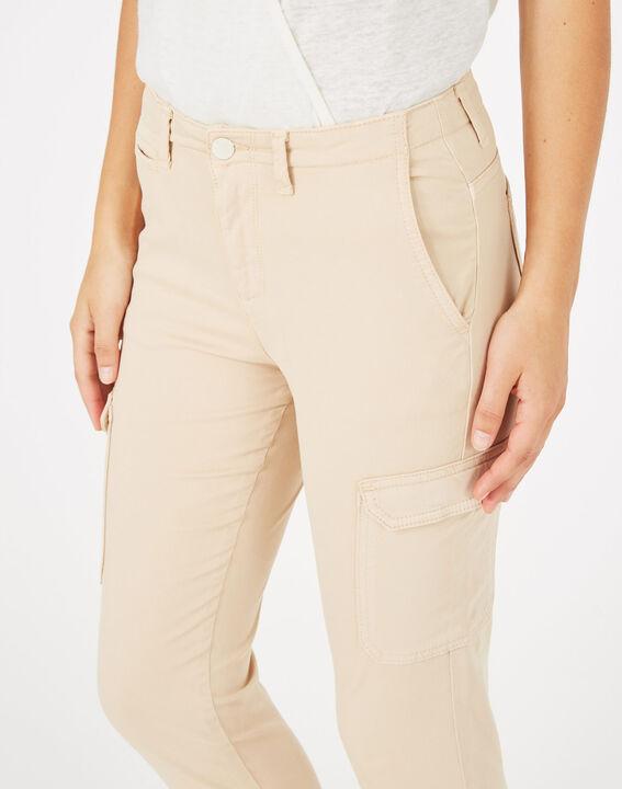 Damien beige combat trousers PhotoZ | 1-2-3