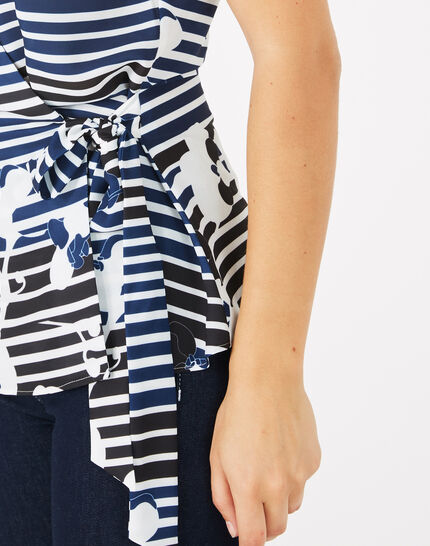 Dereck printed blouse (4) - 1-2-3
