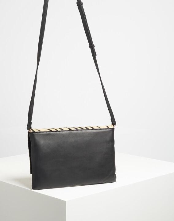 Djenna zebra print shoulder bag PhotoZ | 1-2-3