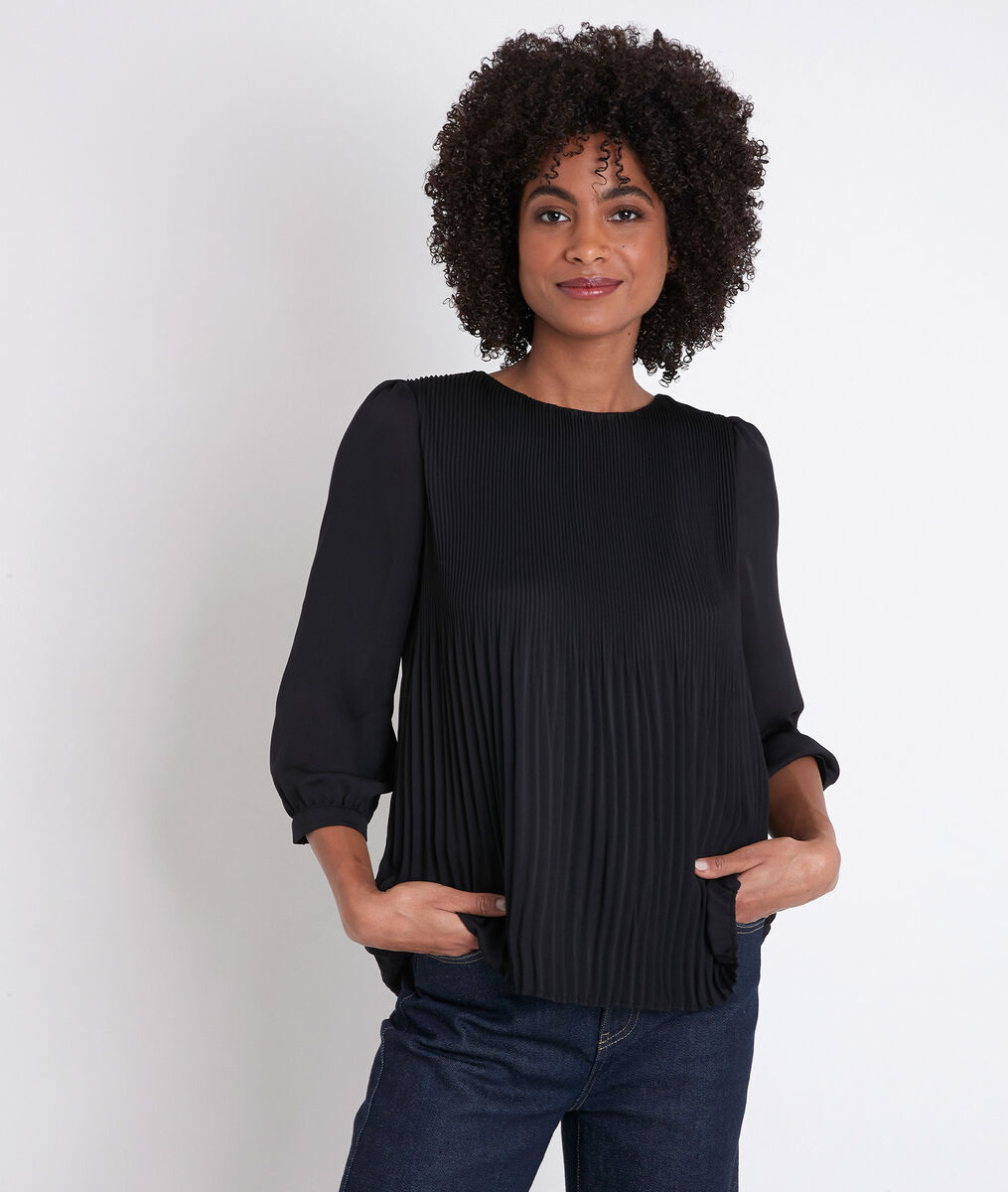 Blouse plissée Juliette PhotoZ | 1-2-3