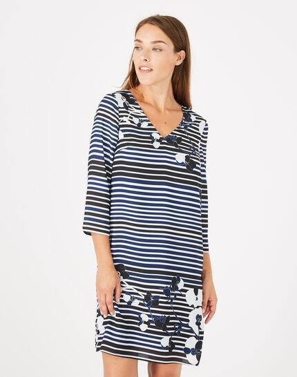 Abysse striped dress (1) - 1-2-3