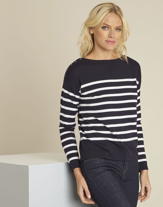 Baltimore striped wool pullover (1) - Maison 123