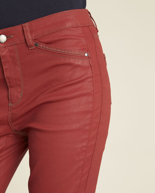 Acajou slim fit 7/8-jeans met coating Opera (2) - 37653