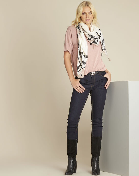 Tee-shirt rose lurex Galway (2) - 1-2-3