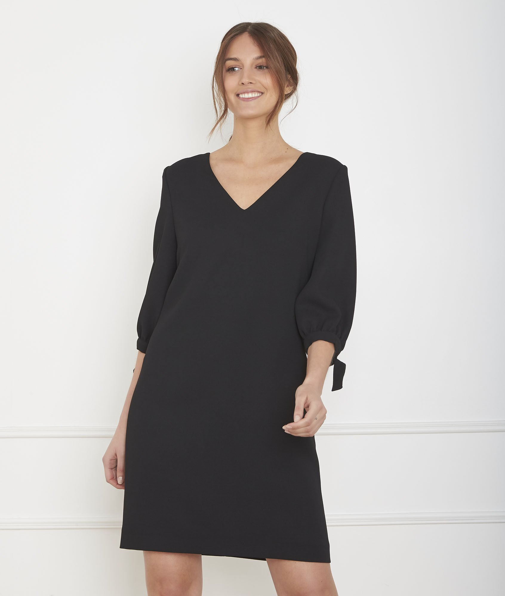 – Maison Robes SoiréesChicsNoiresImprimées De 123 m8nNOv0w