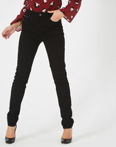 Pantalon noir slim william noir.
