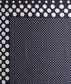 Seidenhalstuch mit blauem Tupfen-Print Aloise PhotoZ | 1-2-3