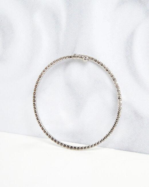 Bracelet brillant argenté Olympe (1) - 1-2-3