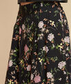Lassie black floral printed skirt PhotoZ | 1-2-3