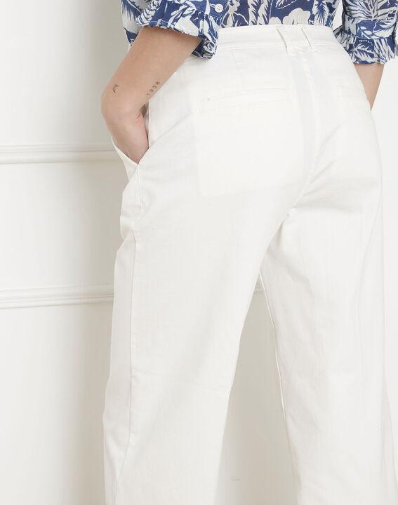 Kurze Jeans, ecrufarben, ausgestellt Carla (4) - Maison 123