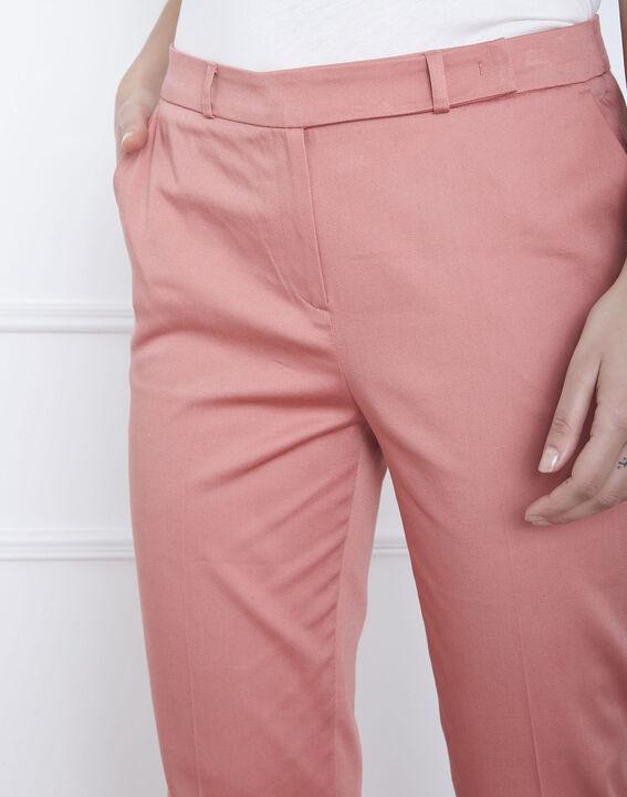 Pantalon rose cigarette Rubis (3) - Maison 123