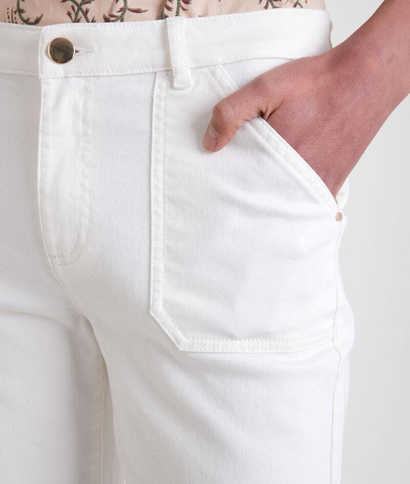 Jean droit en coton organique écru Nalla PhotoZ | 1-2-3