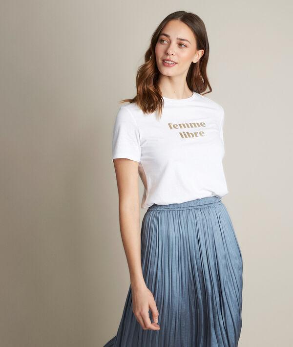 Tee-shirt sérigraphié Rania PhotoZ | 1-2-3